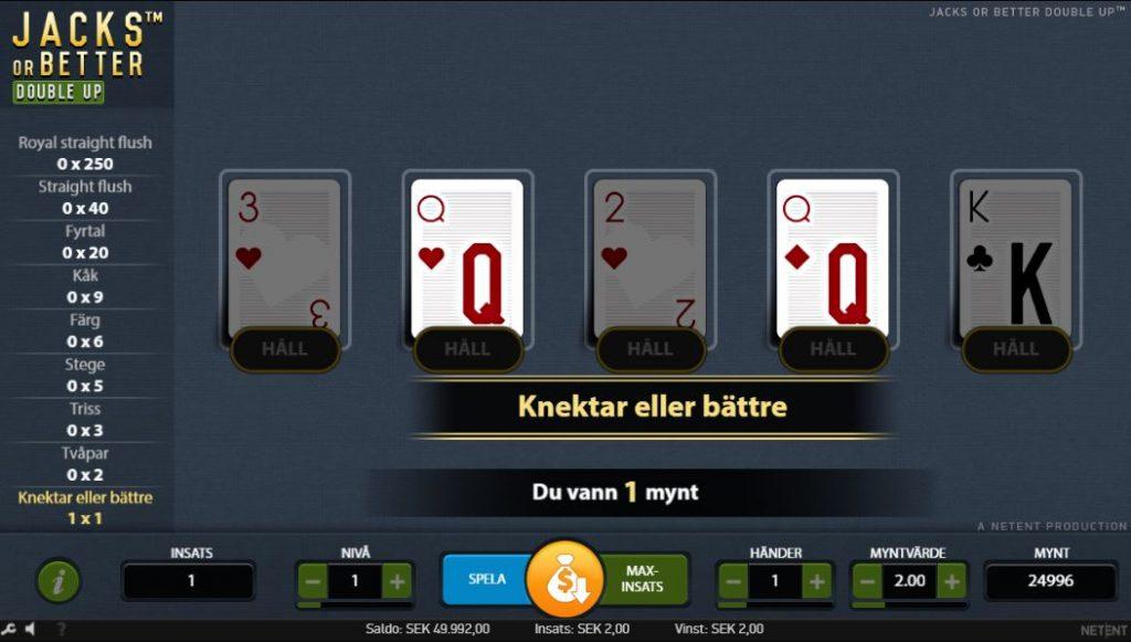 Video poker bonus - Få mer pengar att spela med